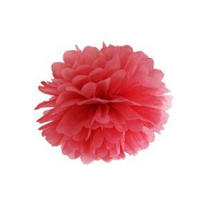 bruiloft-decoratie-pompom-rood
