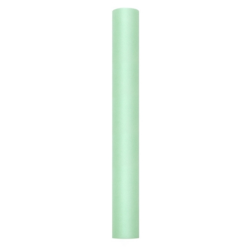 bruiloft-decoratie-rol-tule-mint-50-cm