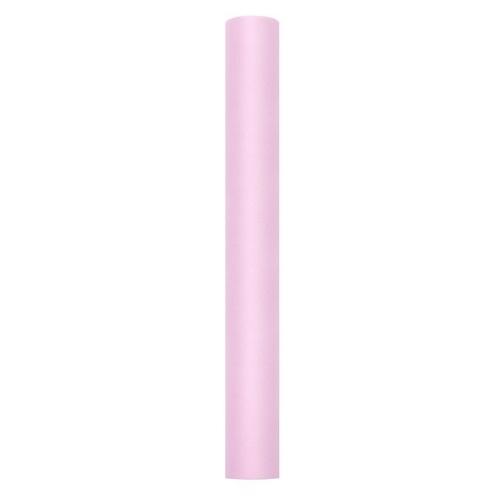 bruiloft-decoratie-rol-tule-pastel-roze-50-cm