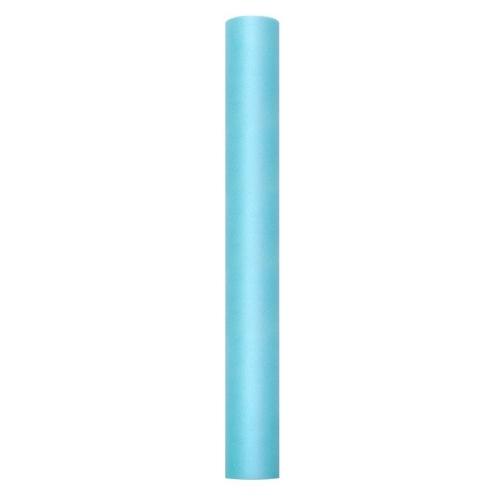 bruiloft-decoratie-rol-tule-turquoise-50-cm