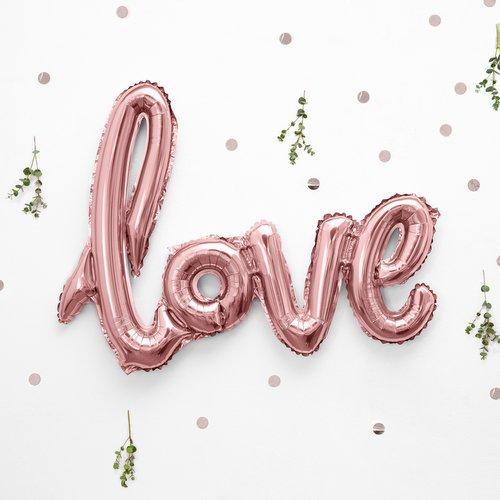 bruiloft-decoratie-folieballonnen-love-rosegoud-2