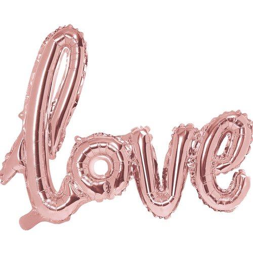 bruiloft-decoratie-folieballonnen-love-rosegoud