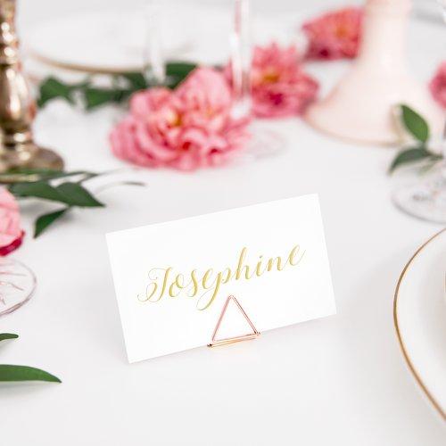 bruiloft-decoratie-plaatskaarthouders-triangle-rosegoud-3