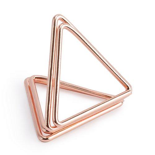 bruiloft-decoratie-plaatskaarthouders-triangle-rosegoud-5