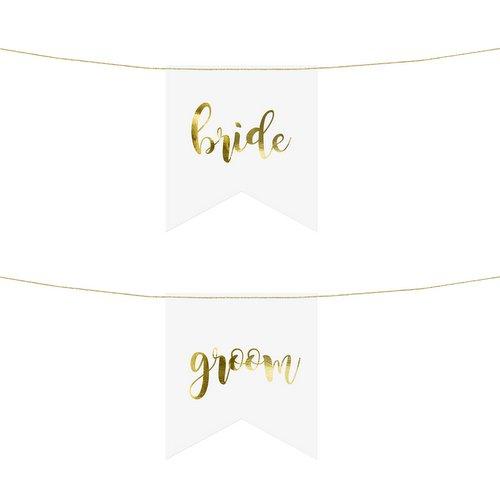 bruiloft-decoratie-chairsigns-bride-groom-white-gold