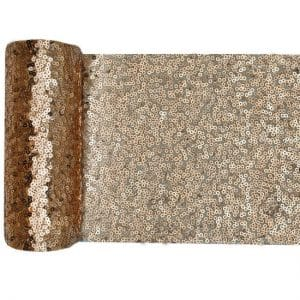 bruiloft-decoratie-tafelloper-sequin-goud (1)