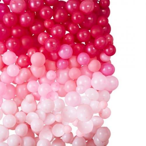 bruiloft-decoratie-ballonnenmuur-ombre-pink-stargazer-2