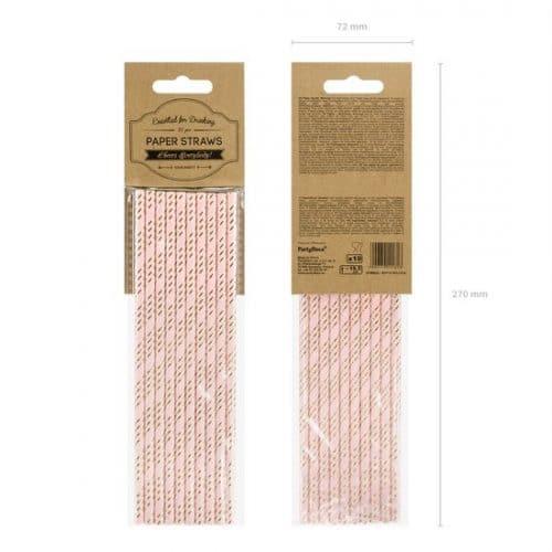 bruiloft-decoratie-papieren-rietjes-pink-gold