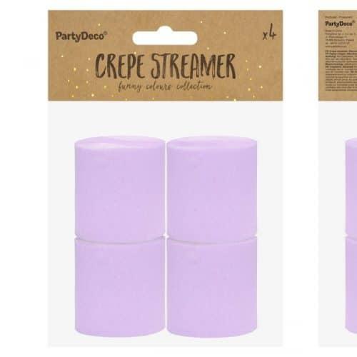 bruiloft-decoratie-crepe-papier-slinger-lila