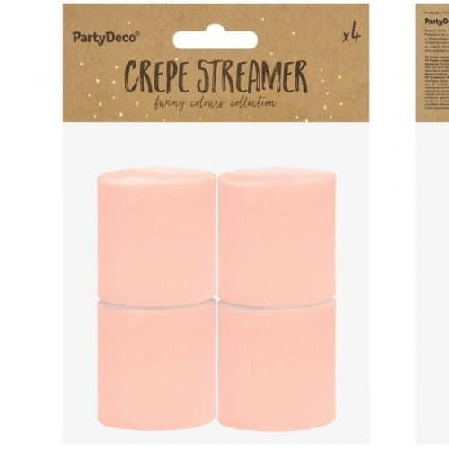 bruiloft-decoratie-crepe-papier-slinger-peach