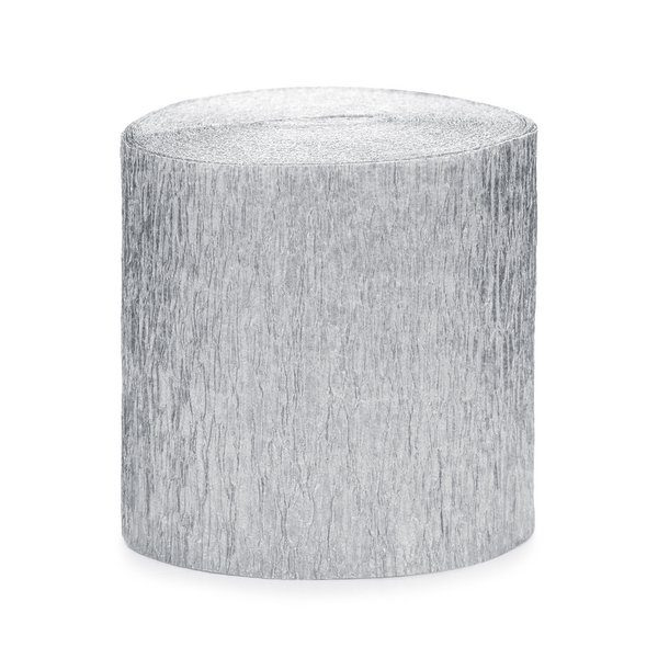 bruiloft-decoratie-crepe-papier-slinger-zilver