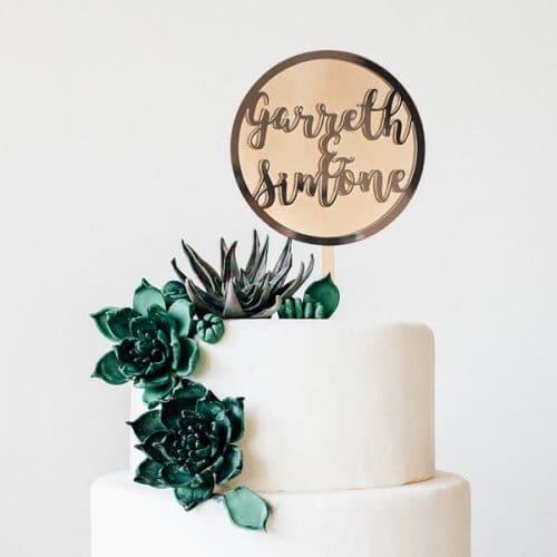 bruiloft-decoratie-taarttopper-cirkel-gepersonaliseerd