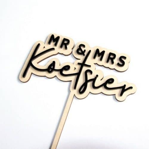 bruiloft-decoratie-taarttopper-mr-mrs-3D-gepersonaliseerd