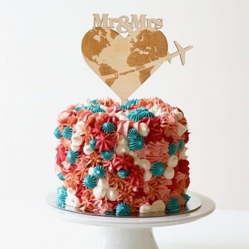 bruiloft-decoratie-taarttopper-reizen-gepersonaliseerd