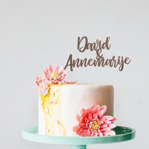 bruiloft-decoratie-taarttopper-voornamen-brush-gepersonaliseerd
