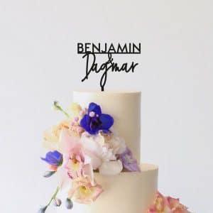 bruiloft-decoratie-taarttopper-voornamen-modern-gepersonaliseerd