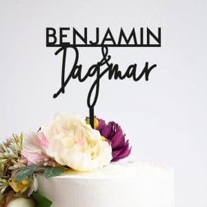 bruiloft-decoratie-taarttopper-voornamen-modern