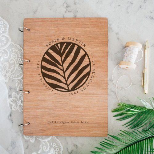 bruiloft-decoratie-gastenboek-hout-jungle-gepersonaliseerd-2