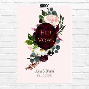 bruiloft-decoratie-geloften-blad-her-vows-burgundy-rose-eng