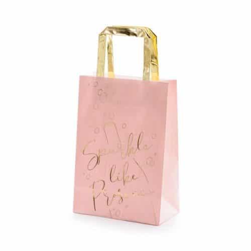 bruiloft-decoratie-papieren-tasjes-prosecco-pink-gold-5