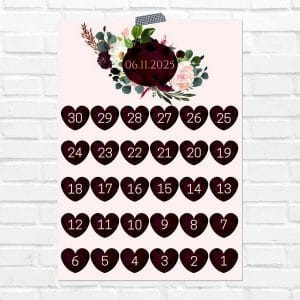 bruiloft-decoratie-poster-days-until-we-do-burgundy-rose-eng
