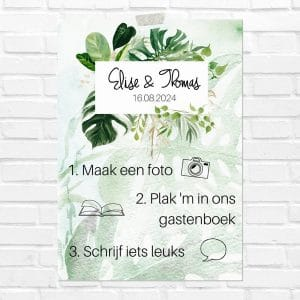 bruiloft-decoratie-poster-photobooth-gold-greenery-nl