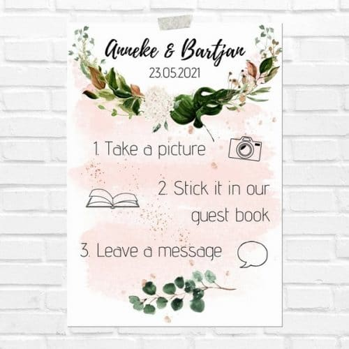 bruiloft-decoratie-poster-photobooth-rose-gold-greenery-eng