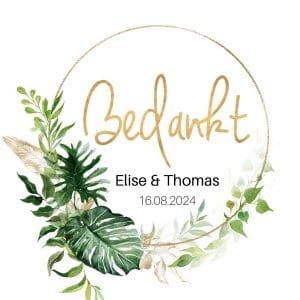 bruiloft-decoratie-stickers-bedankt-gold-greenery