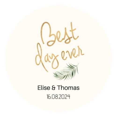 bruiloft-decoratie-stickers-best-day-ever-gold-greenery