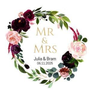 bruiloft-decoratie-stickers-mr-mrs-burgundy-rose