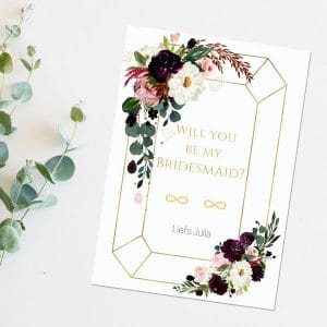oorbellen-will-you-be-my-bridesmaid-burgundy-rose