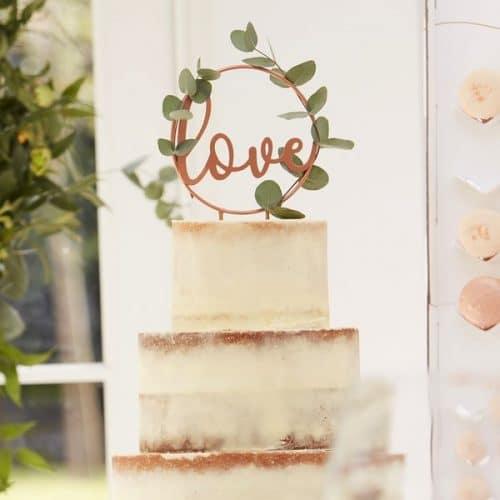 bruiloft-decoratie-cake-topper-love-brons-botanical-wedding-2