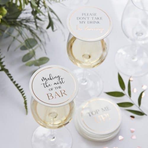 bruiloft-decoratie-drank-tokens-botanical-wedding-2