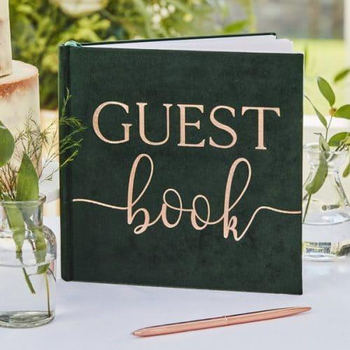 bruiloft-decoratie-gastenboek-green-velvet-botanical-wedding-2