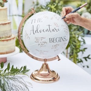 bruiloft-decoratie-gastenboek-wereldbol-botanical-wedding-2