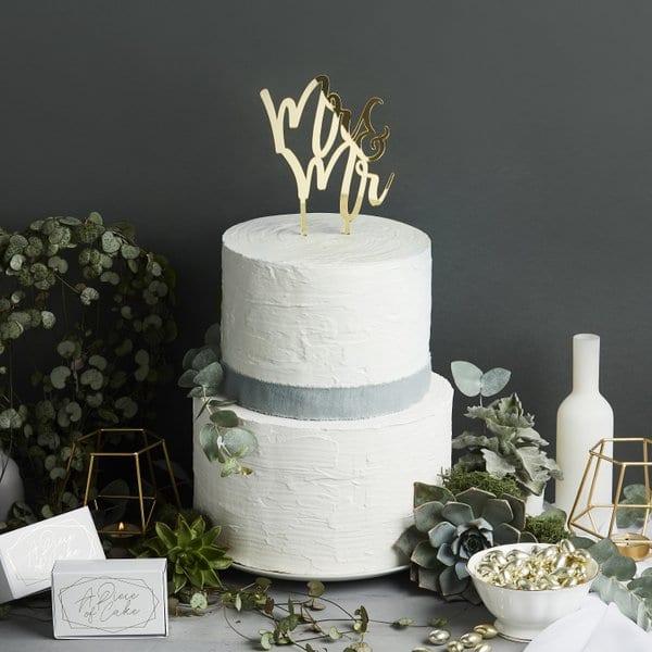 bruiloft-decoratie-homohuwelijk-acryl-cake-topper-mr-mr-geometric-greenery-2