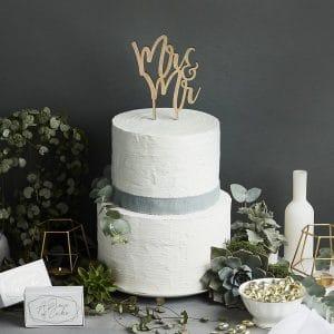 bruiloft-decoratie-homohuwelijk-houten-cake-topper-mr-mr-geometric-greenery-2