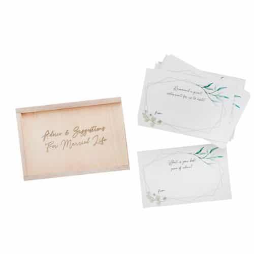 bruiloft-decoratie-houten-advice-box-geometric-greenery