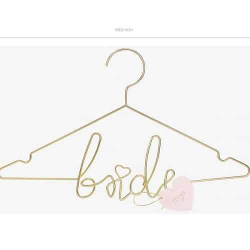 bruiloft-decoratie-metalen-kledinghanger-bride-goud-3
