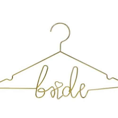 bruiloft-decoratie-metalen-kledinghanger-bride-goud