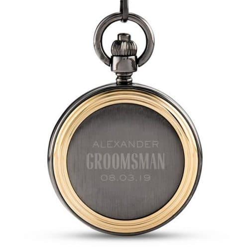bruiloft-decoratie-zakhorloge-gold-frame-modern-groomsman-gepersonaliseerd-4