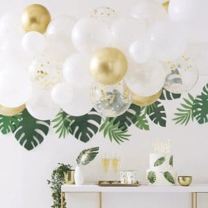 vrijgezellenfeest-versiering-ballonnenboog-botanical-hen-2