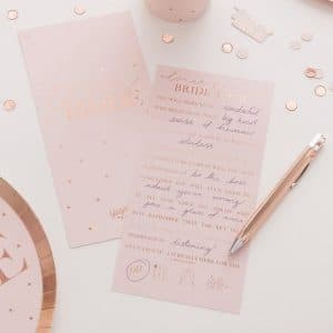 vrijgezellenfeest-versiering-blush-hen-kaarten-advice-for-the-bride-to-be-2