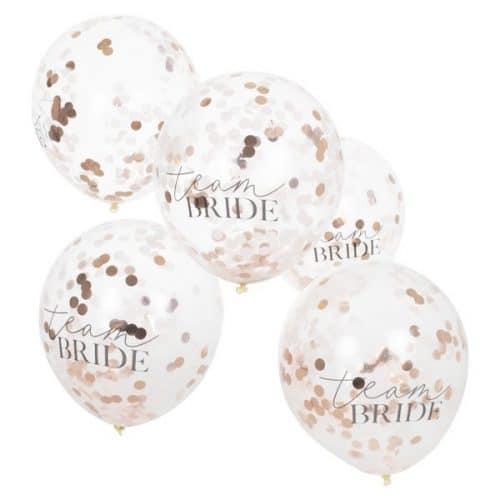 vrijgezellenfeest-versiering-confetti-ballonnen-blush-hen