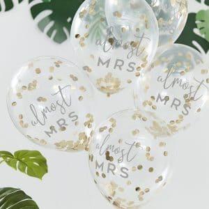 vrijgezellenfeest-versiering-confetti-ballonnen-botanical-hen-2