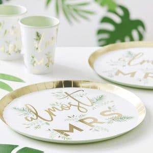vrijgezellenfeest-versiering-papieren-bordjes-botanical-hen-2