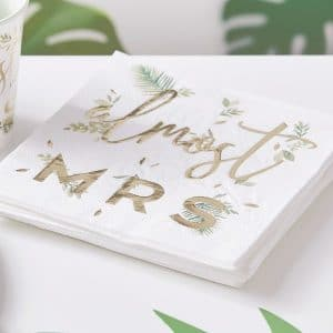 vrijgezellenfeest-versiering-servetten-almost-mrs-botanical-hen-2