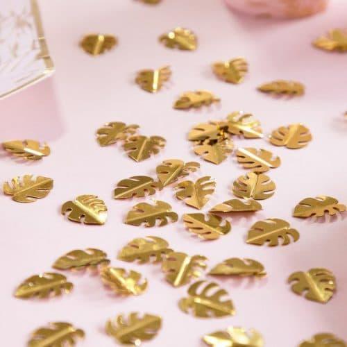 bruiloft-decoratie-confetti-golden-leafs