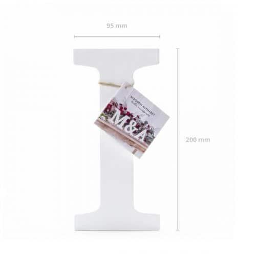 bruiloft-decoratie-houten-letter-i-wit