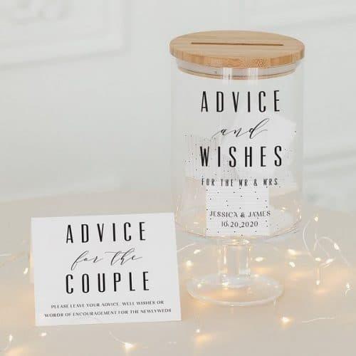 bruiloft-decoratie-gastenboek-advice-and-wishes-gepersonaliseerd-2